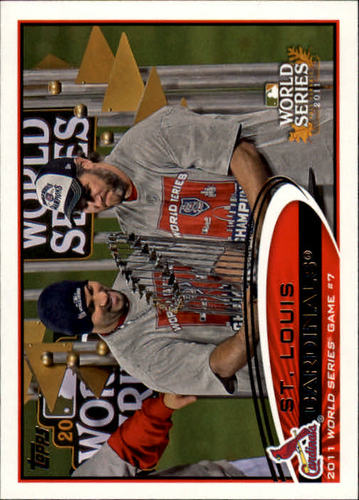 Photo of 2012 Topps #53 St. Louis Cardinals WS HL