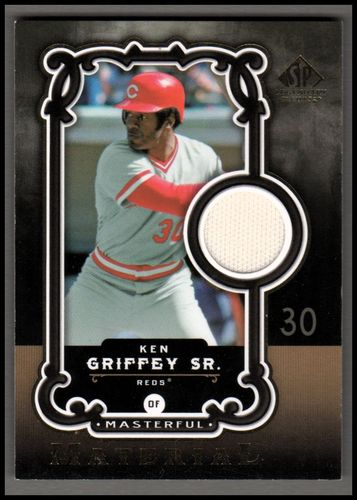 Photo of 2007 SP Legendary Cuts Masterful Materials #KG Ken Griffey Sr.