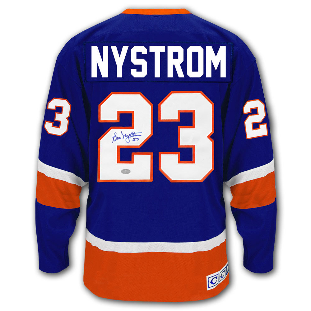 Bob Nystrom New York Islanders CCM Autographed Jersey