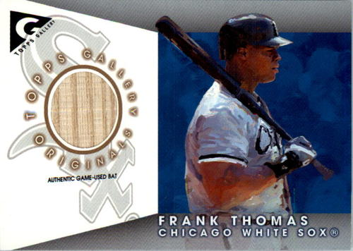 Photo of 2005 Topps Gallery Originals Relics #FT Frank Thomas Bat
