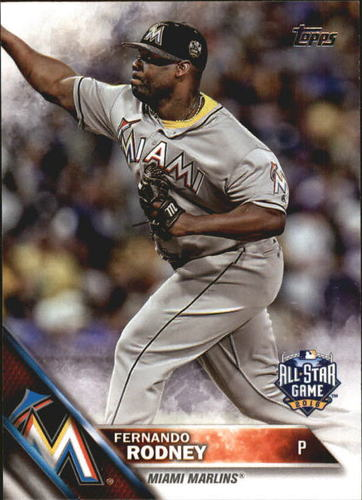 Photo of 2016 Topps Update #US173 Fernando Rodney AS