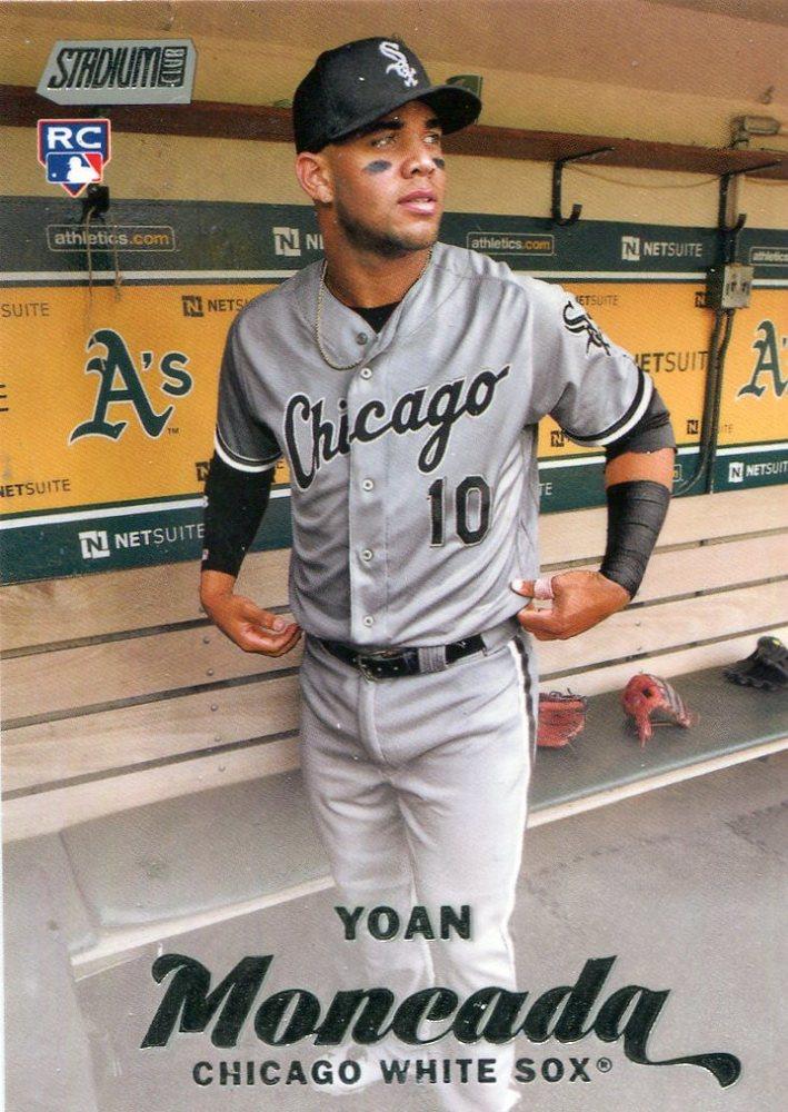 2017 Stadium Club #111 Yoan Moncada Rookie Card