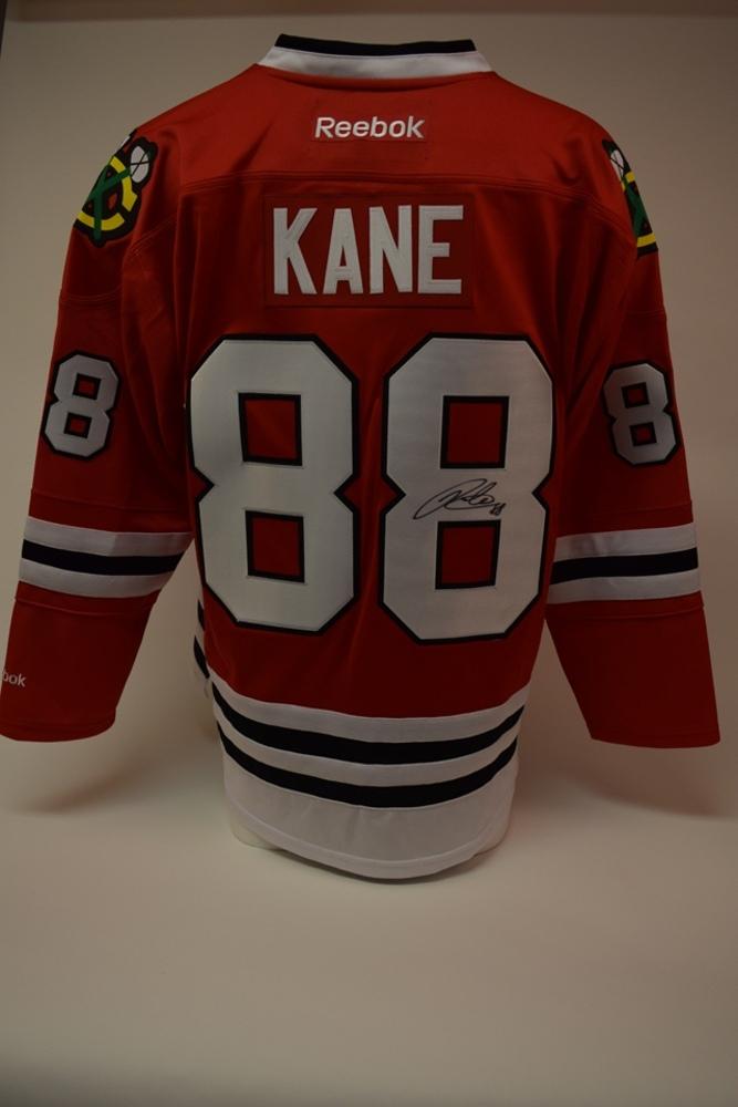 Chandail des Blackhawks de Chicago autographié par Patrick Kane | Patrick Kane autographed Chicago Blackhawks jersey