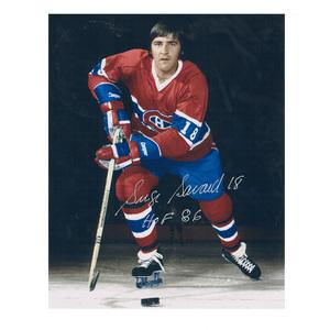 SERGE SAVARD Signed Montreal Canadiens 8 X 10 Photo - 70406
