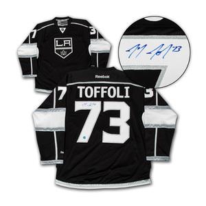 Tyler Toffoli Los Angeles Kings Autographed Reebok Premier Jersey