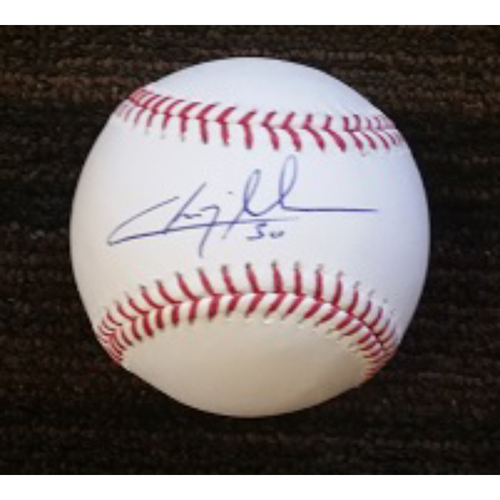 Photo of Chris Tillman - Ball: Autographed