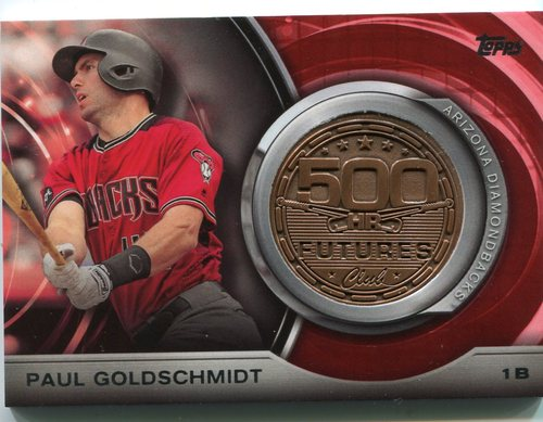 Photo of 2016 Topps Update 500 HR Futures Club Medallions #500M12 Paul Goldschmidt