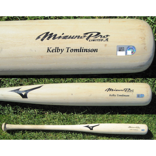 San Francisco Giants - Team Issued Broken Bat - Spring Training - Kelby Tomlinson