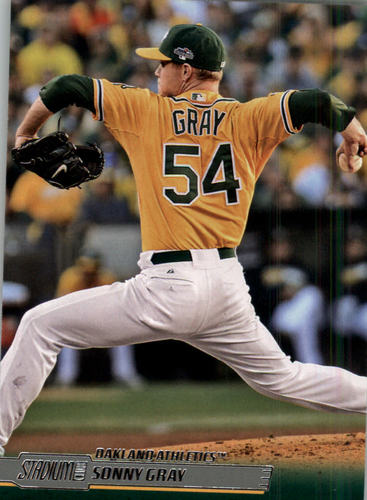 Photo of 2014 Stadium Club #119 Sonny Gray
