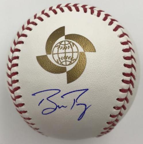 Photo of Buster Posey Autographed 2017 World Baseball Classic Baseball