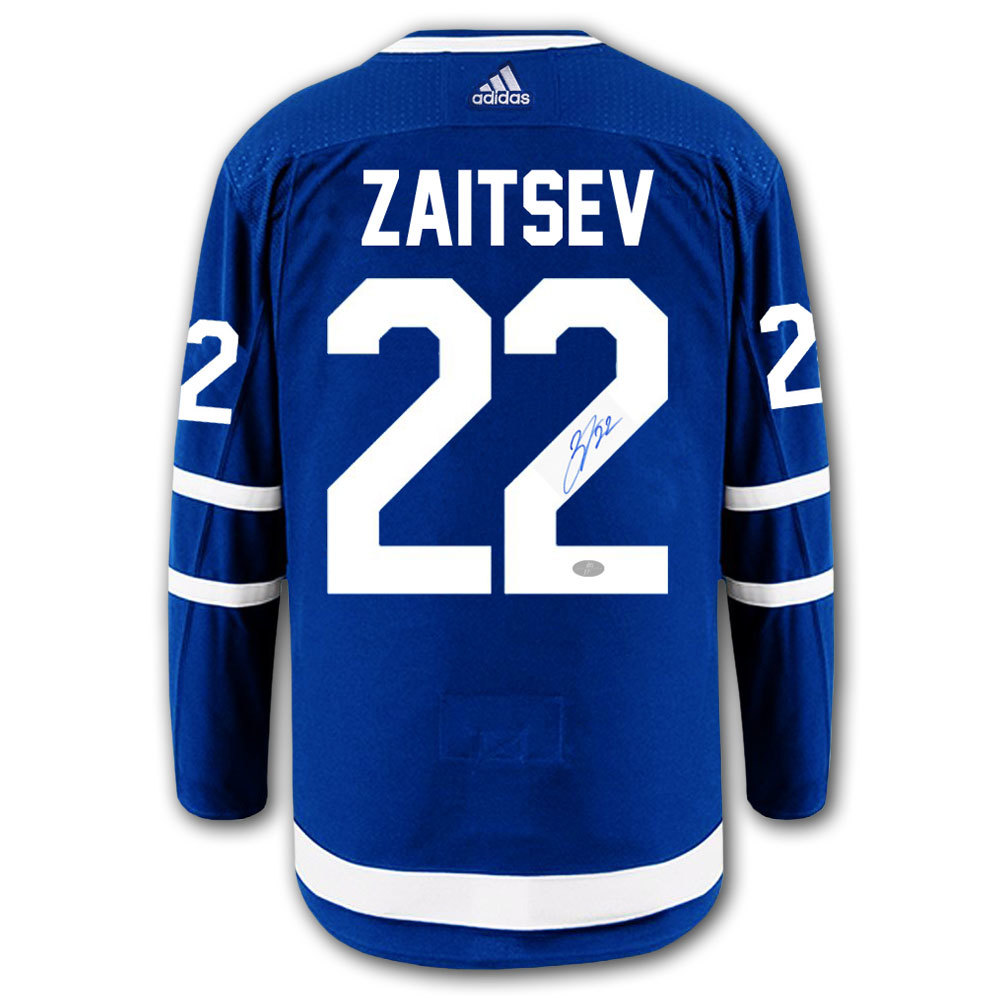 Nikita Zaitsev Toronto Maple Leafs Adidas Pro Autographed Jersey