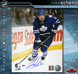 LUKE SCHENN Signed Toronto Maple Leafs 8 X 10 Photo - 70204