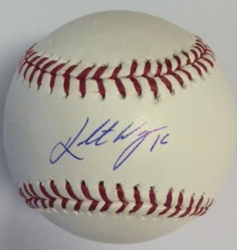 Photo of Kolten Wong Autographed Baseball