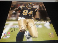 RAMS - RANDY MCMICHAEL SIGNED 11X14 PHOTO