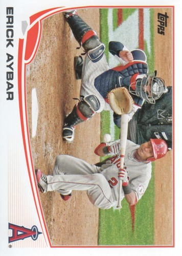 Photo of 2013 Topps #489 Erick Aybar