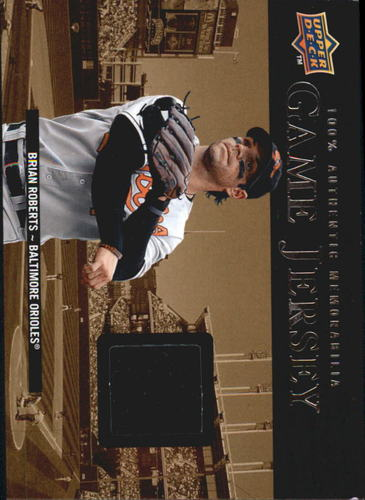 Photo of 2008 Upper Deck UD Game Materials 1999 #BR Brian Roberts