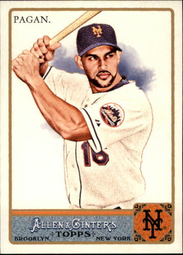 Photo of 2011 Topps Allen and Ginter #38 Angel Pagan