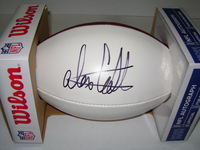 NFL - SEAHAWKS ALEX COLLINS SIGNED PANEL BALL
