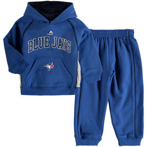 Childs Lil Fan Hoody and Pants Set by Majestic