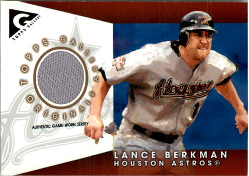 Photo of 2005 Topps Gallery Originals Relics #LB Lance Berkman Jsy