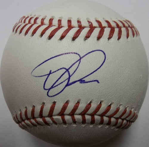 Photo of Terry Francona Autographed Baseball