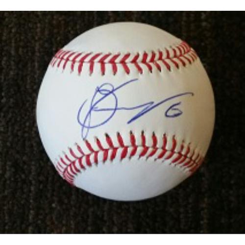Photo of Jonathan Schoop - Ball: Autographed