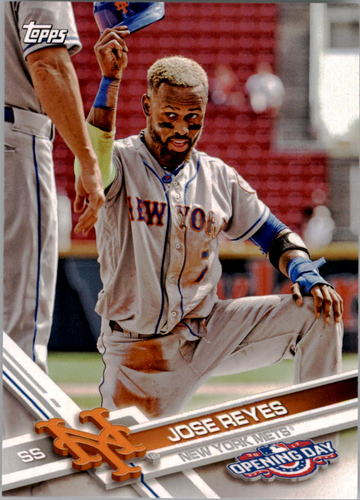 Photo of 2017 Topps Opening Day #88 Jose Reyes