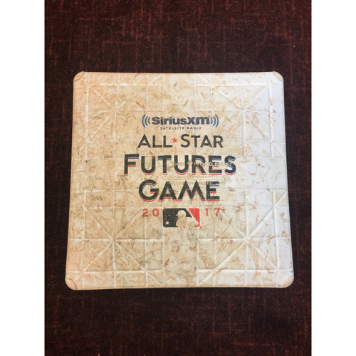 Photo of 2017 All-Star Futures Game Auction: Game-Used 1st Base, Used for Entire Futures Game