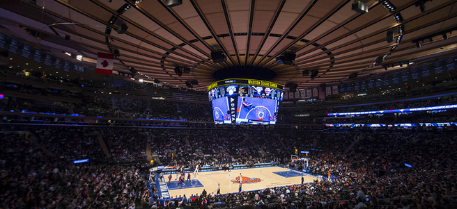 NEW YORK KNICKS GAME: 4/3 KNICKS VS. ORLANDO