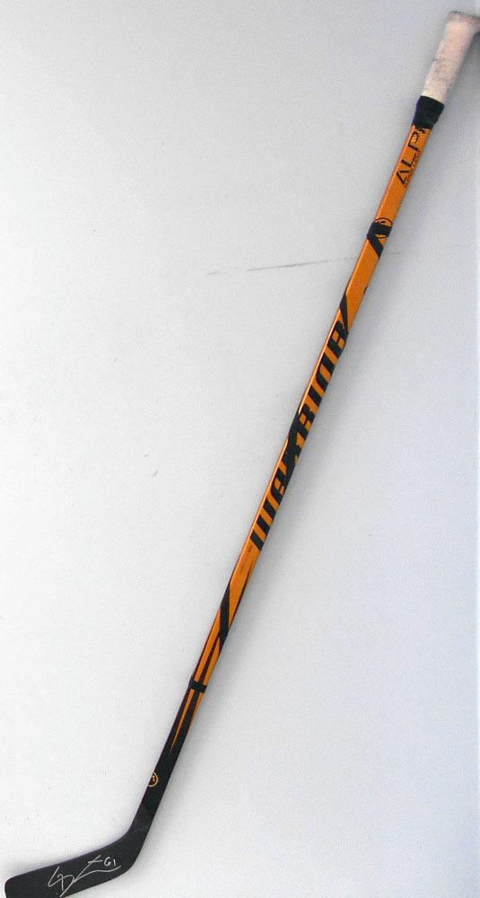 #61 MarkStone Game Used Stick - Autographed - Ottawa Senators