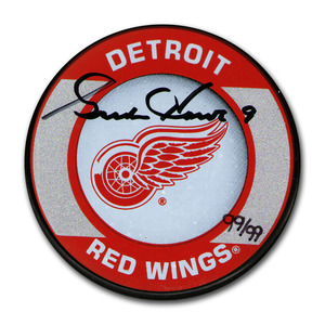 Gordie Howe Autographed Limited-Edition Detroit Red Wings Puck - #99/99