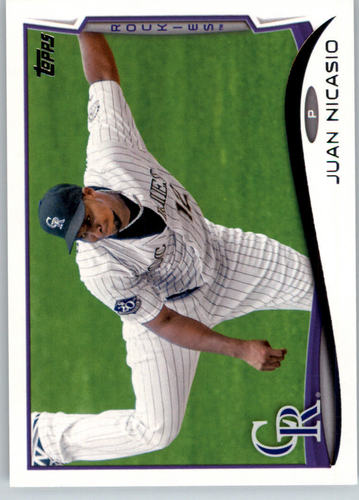Photo of 2014 Topps #13 Juan Nicasio