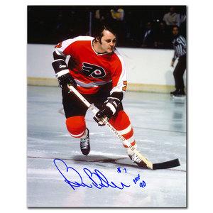 Bill Barber Philadelphia Flyers HOF Autographed 8x10