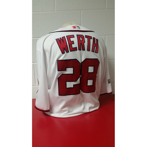 Game-Used Jersey - Jayson Werth