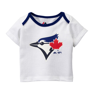 Toronto Blue Jays Newborn/Infant Mini Uniform Set White by Majestic