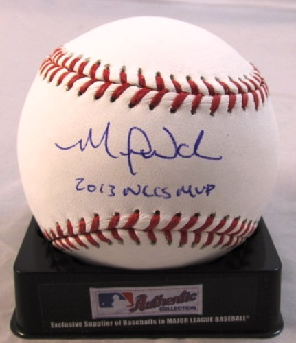 "Photo of Michael Wacha Autographed ""2013 NLCS MVP"" Baseball"