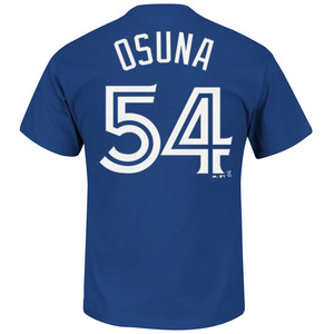 Toronto Blue Jays Roberto Osuna Player T-Shirt by Majestic