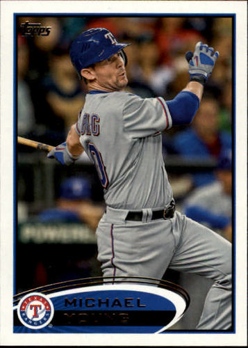 Photo of 2012 Topps #55 Michael Young