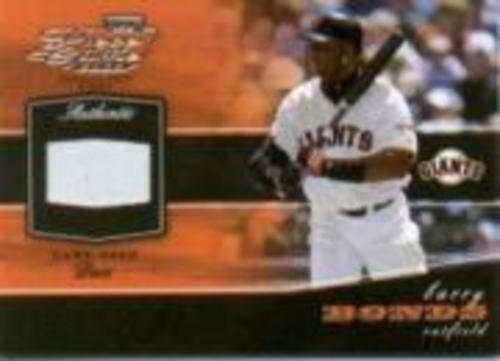 Photo of 2002 Playoff Piece of the Game Materials #8A Barry Bonds Base