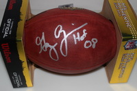 HOF - BRONCOS GARY ZIMMERMAN SIGNED AUTHENTIC FOOTBALL