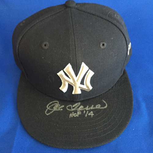 Photo of UMPS CARE AUCTION: Joe Torre Signed Yankees Hat Size 7 1/2