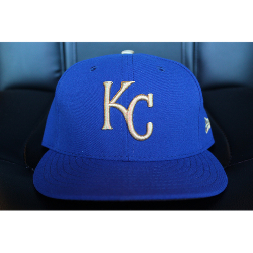 Photo of Game-Used Cap: Lorenzo Cain (Size 7 - ARI at KC - 9/29/17)