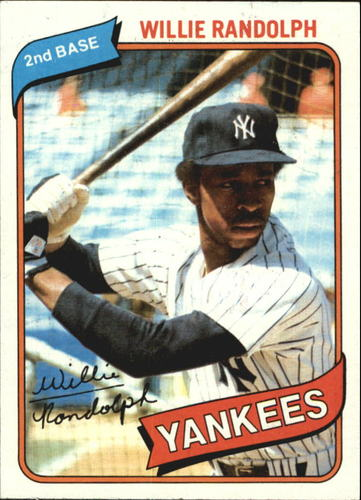Photo of 1980 Topps #460 Willie Randolph