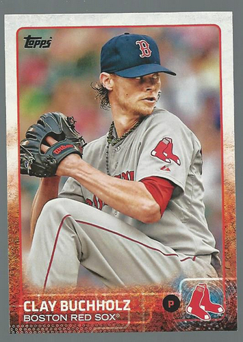 Photo of 2015 Topps #211 Clay Buchholz