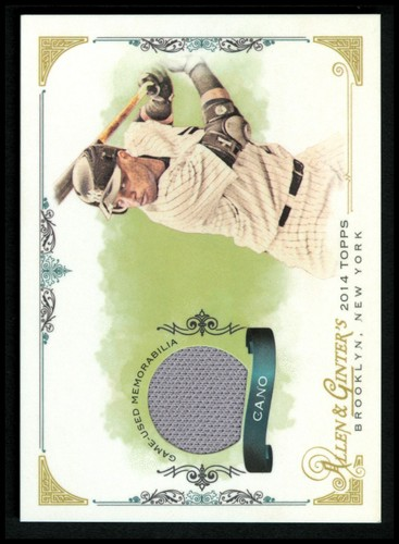 Photo of 2014 Topps Allen and Ginter Relics #FSRRC Robinson Cano A