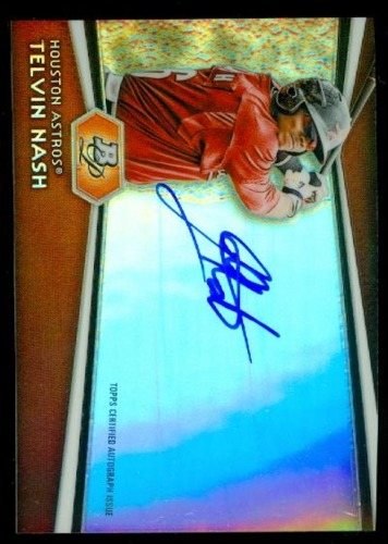 Photo of 2012 Bowman Platinum Prospect Autographs #TN Telvin Nash