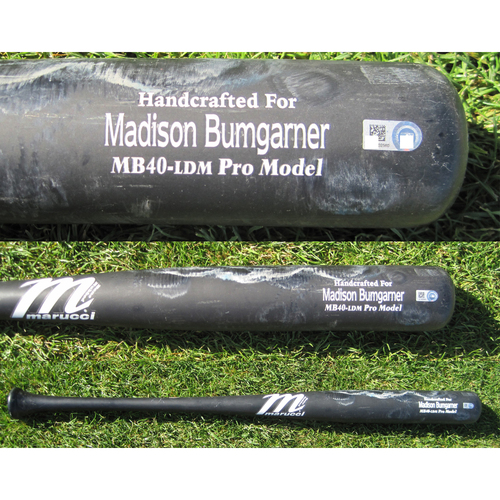 Photo of San Francisco Giants - Team Issued Broken Bat - Spring Training - Madison Bumgarner