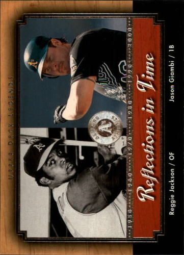Photo of 2001 Upper Deck Legends Reflections in Time #R9 J.Giambi/R.Jackson