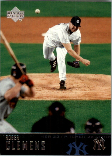 Photo of 2004 Upper Deck Glossy #128 Roger Clemens