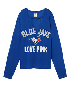 Love PINK  Varsity Crop Pullover by Victoria's Secret